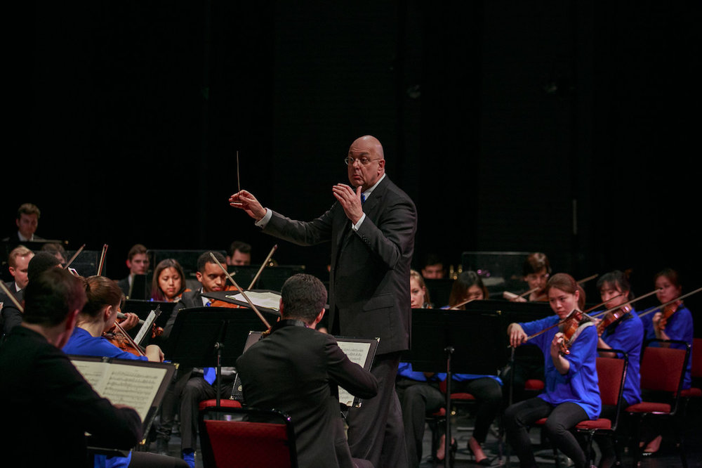 Conducting The Orchestra Now - Photo by Jito Lee