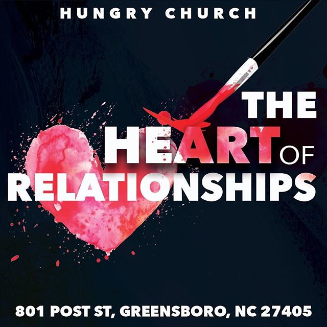 THE HEART OF RELATIONSHIPS series continues tomorrow at 930am & 1130am. Can't wait to worship with you. #dosomethingdifferent #wearehungrychurch #tag5