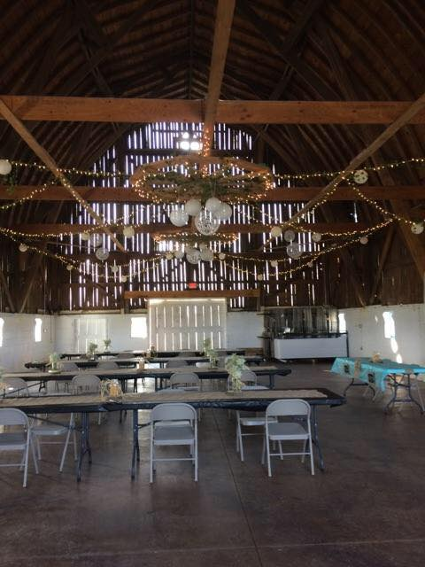 Inside Large Barn