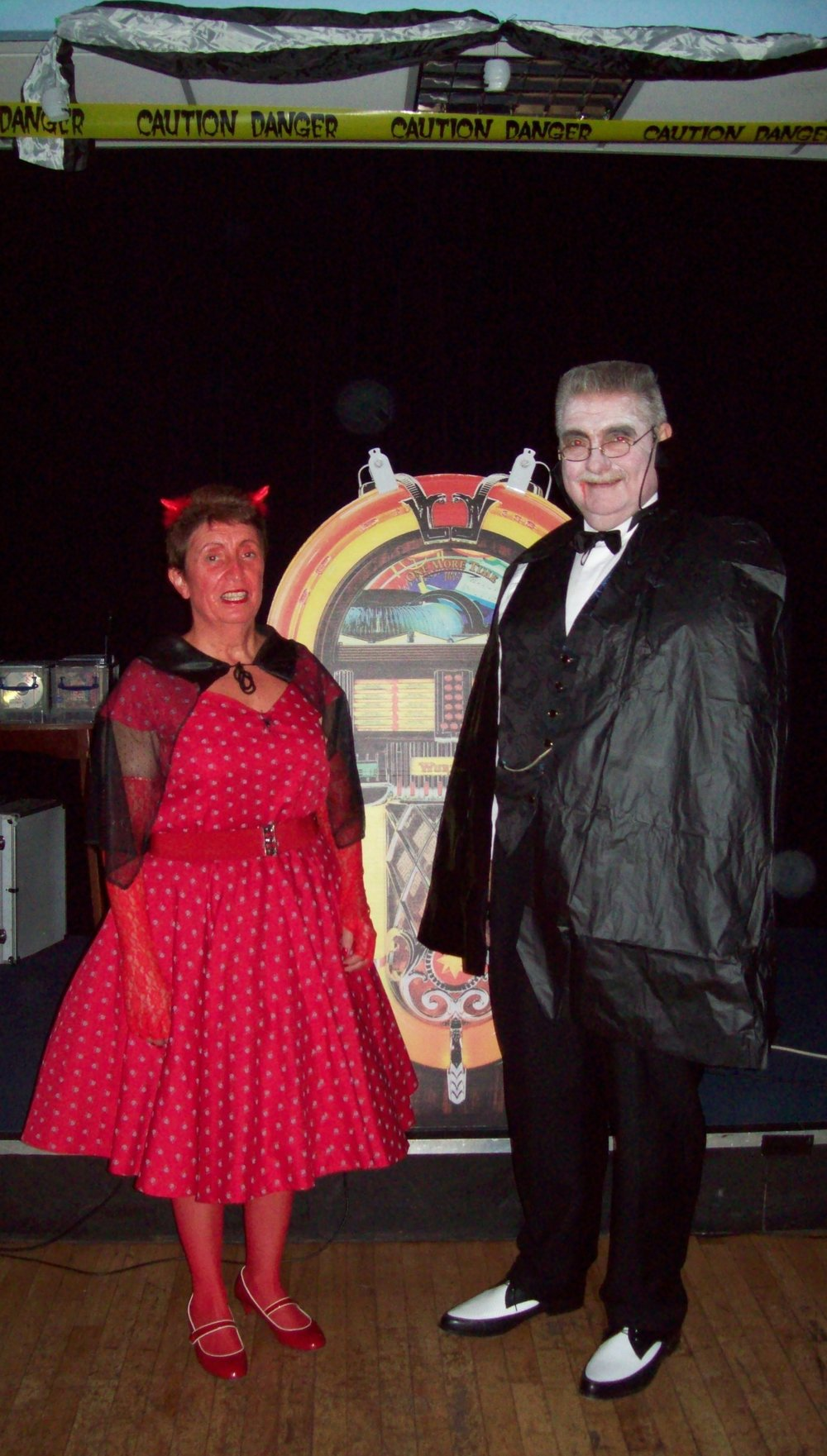 Sandra'B' and Jiveboy Halloween Hop 2013.jpg