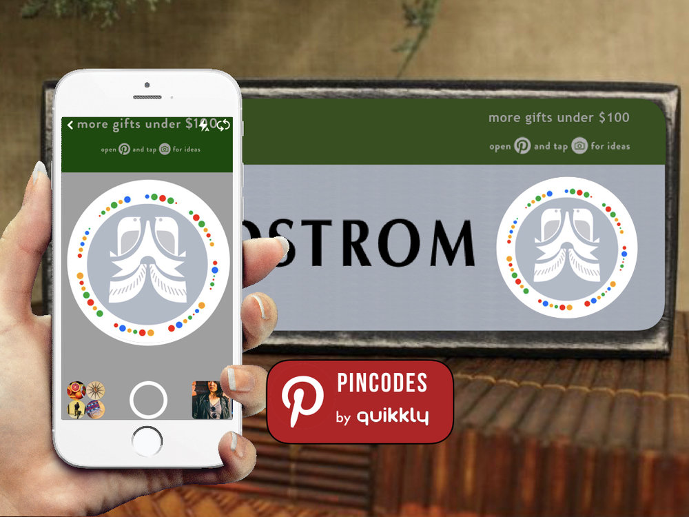 Pinterest Pincodes - now available via Nordstrom, Home Depot, Kraft, Kia and more