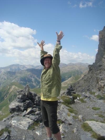 Michele Straube Via Alpina 2011.jpeg