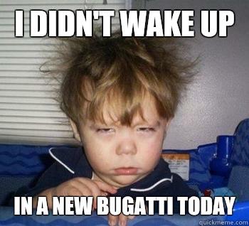 Friday morning feels.
