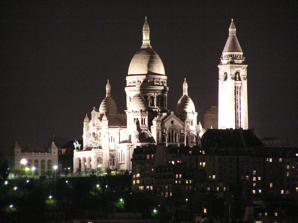 Sacré Coeur of Montmarte, Paris