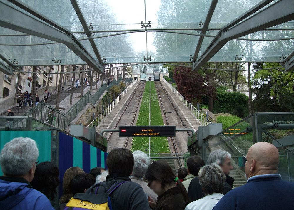 montmartre funiculaire