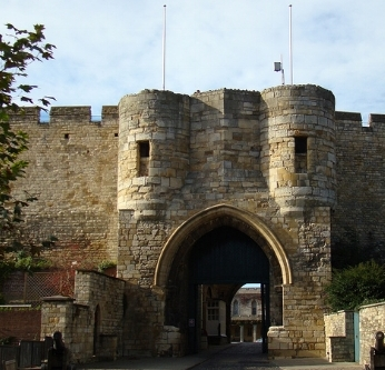 Lincoln Castle, England