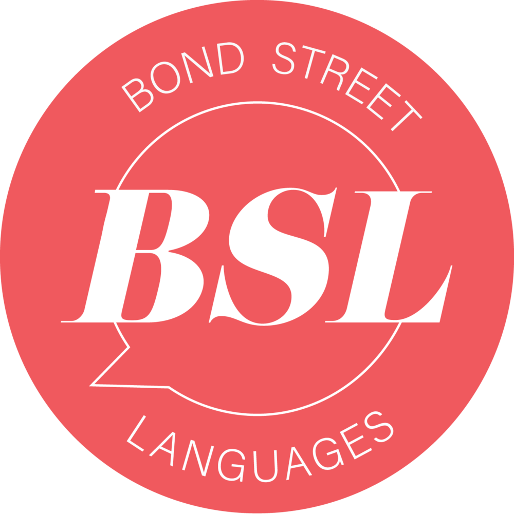 Bond Street Languages - stamp
