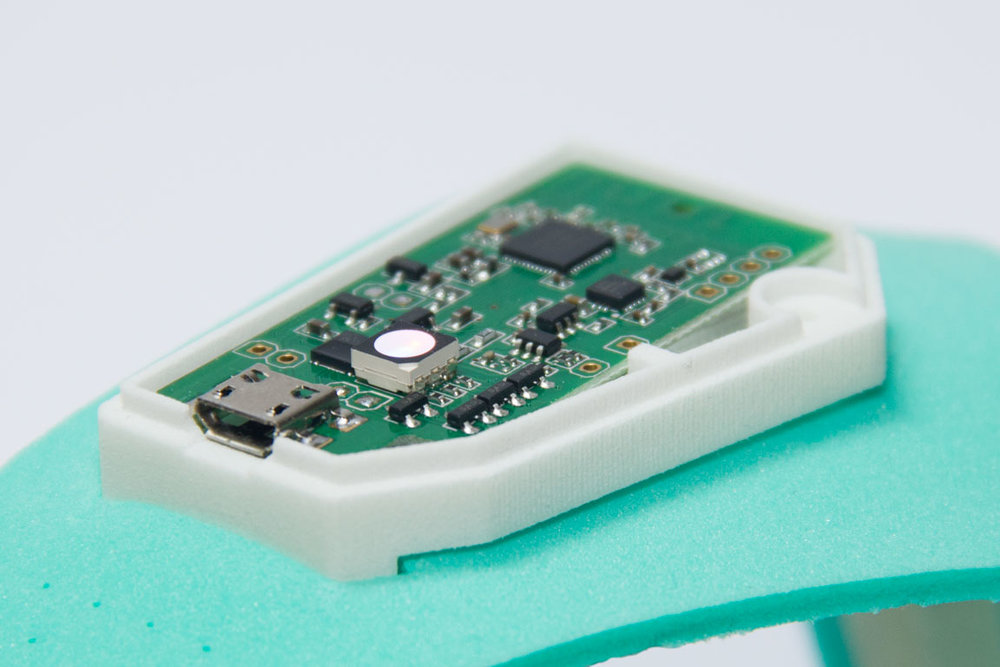 Personal Quantifier PCB in custom enclosure designed by Mark Kobine