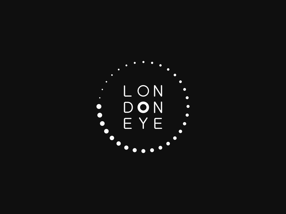 London Eye Logo Concept