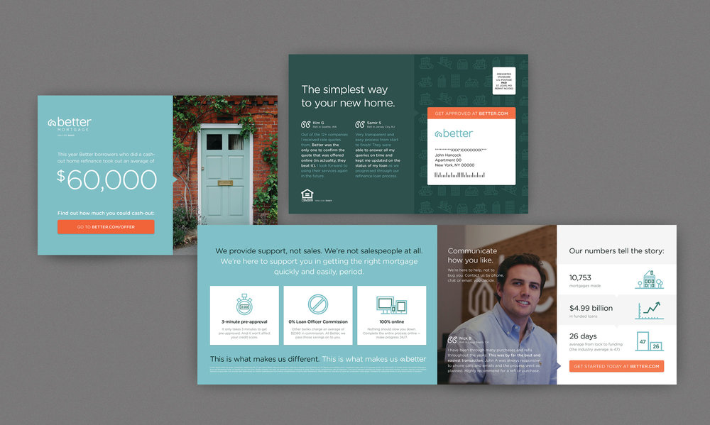 Single-fold Direct Mail Design