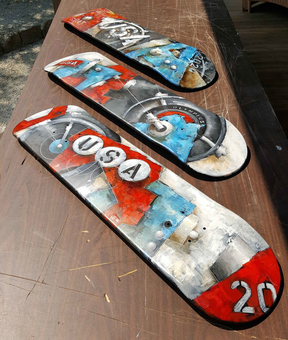 Olympic Series Skateboards