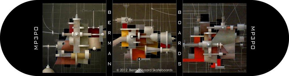MP3PO Skateboard