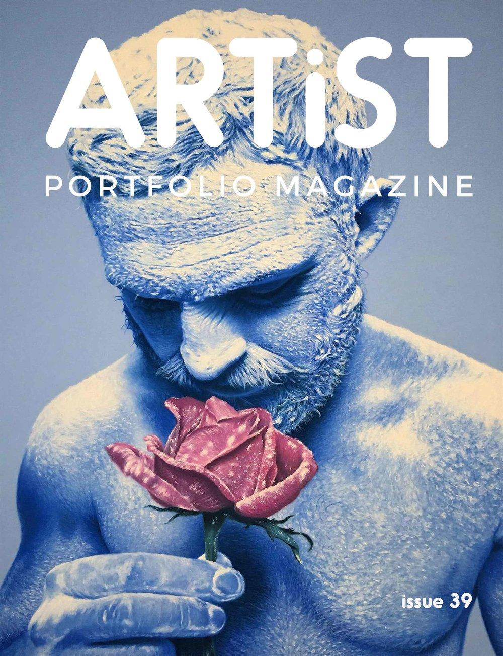 Artist Portfolio Magazine - My artwork included in Issue 39.April 2019