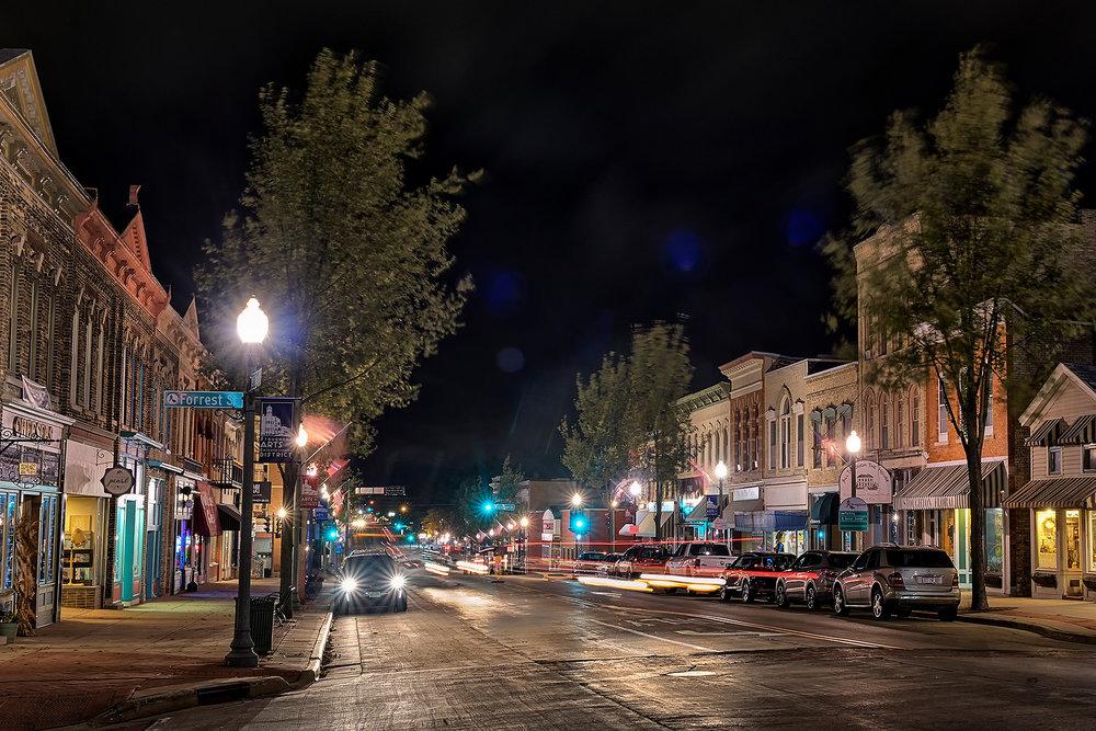 Main Street, Stoughton, Wisconsin - Photo by Tim Erickson Phototraphy