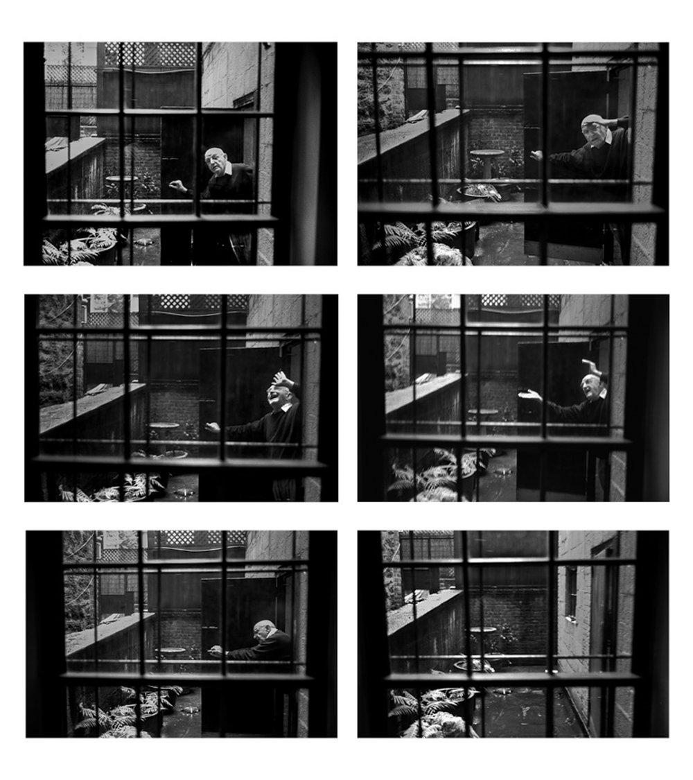 Duane Michals, NYC, 2011