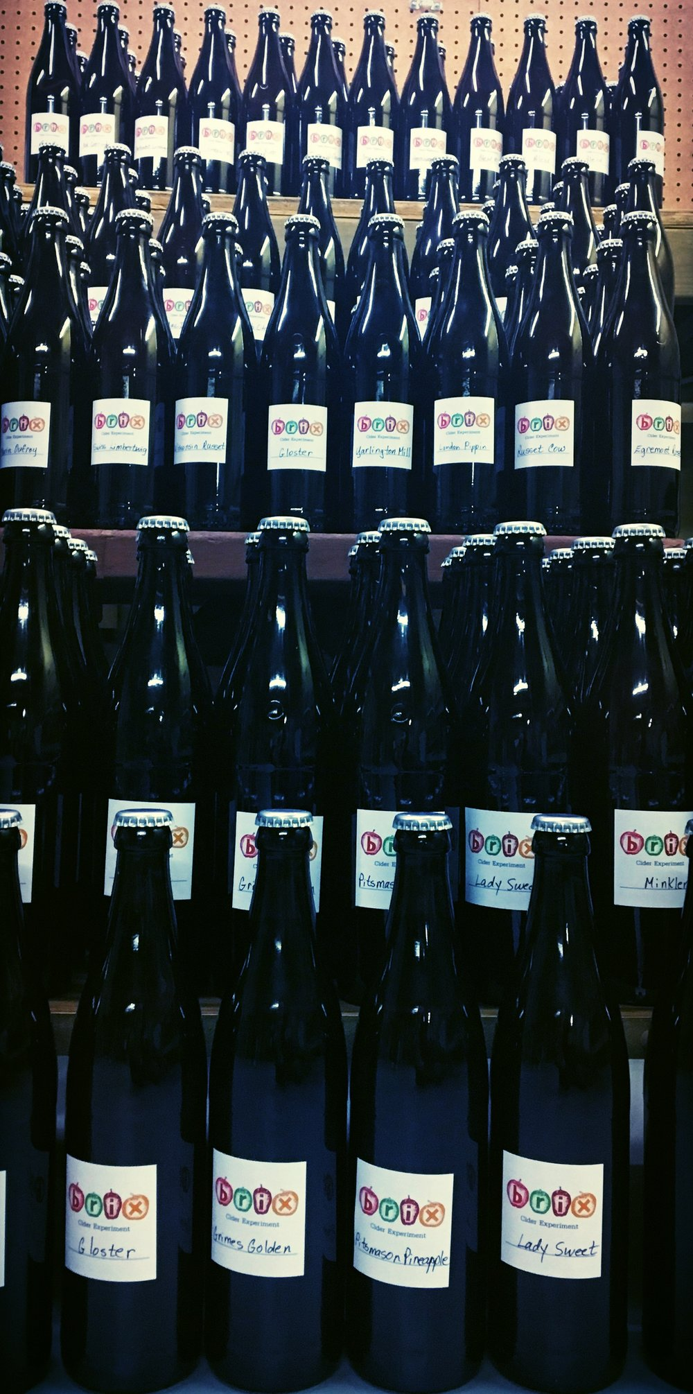 Above: Bottled Ciders