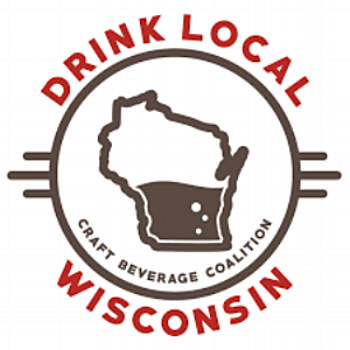Above:  Wisconsin Craft Beverage Coalition Logo