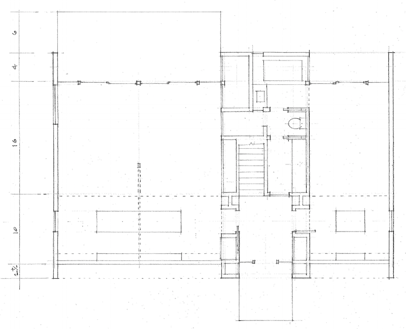 schematic design of an enviornmentally friendly home