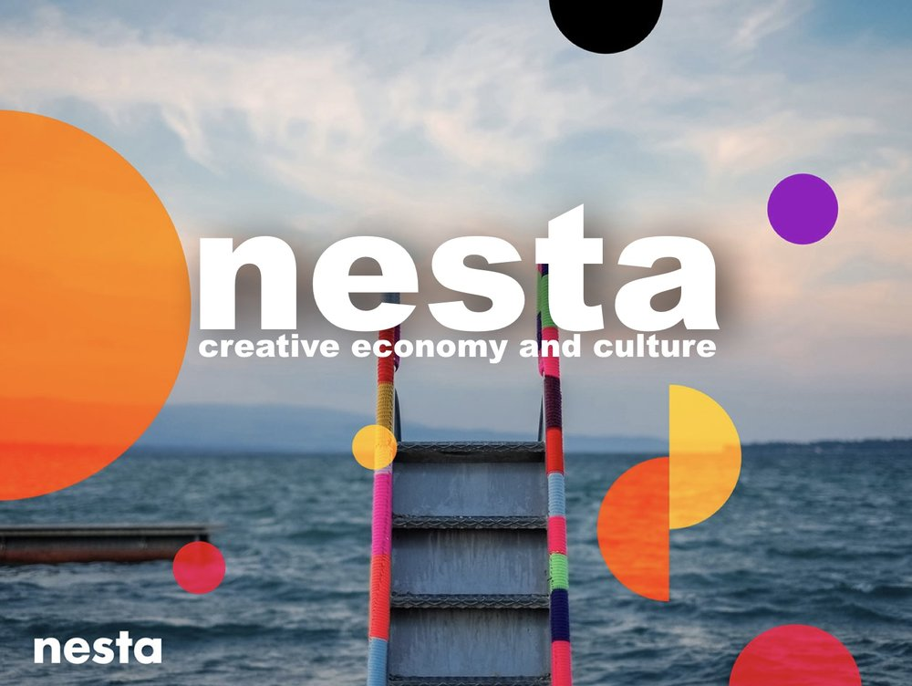 Nesta's Creative Economy & Culture Committee - Proud and privileged to be a part of this. A major opportunity to influence the future for this country. As a part of the creative economy board we work together to help grow the creative economy and help arts and cultural organisations thrive in a time of austerity.This means we have to showcase and put a spotlight on the value of the creative economy, influence policies to help it grow, and help arts and cultural organisations thrive by making the most of digital technologies and new funding sources.Watch The NESTA Videos