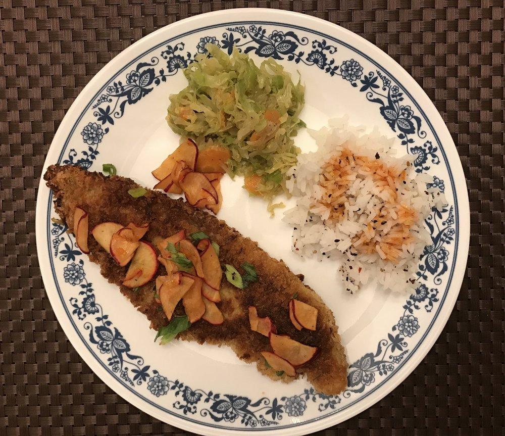 Blue apron katsu catfish - Roasted Pork