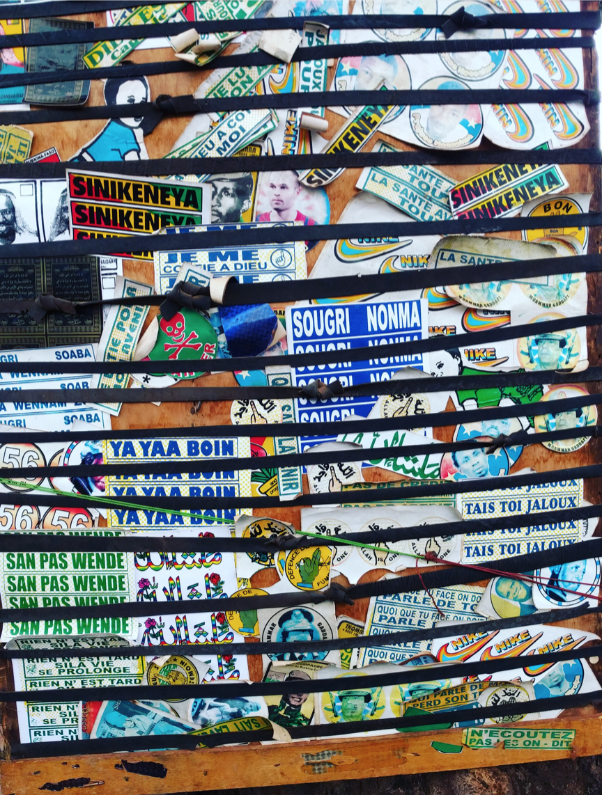 West African Stickers. Photo: Coleman Donaldson