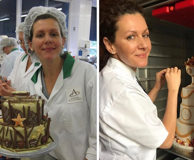 10 years challenging my skills and passions!  #10yearschallenge #pastrylife #weddingcakes #passion #cakes