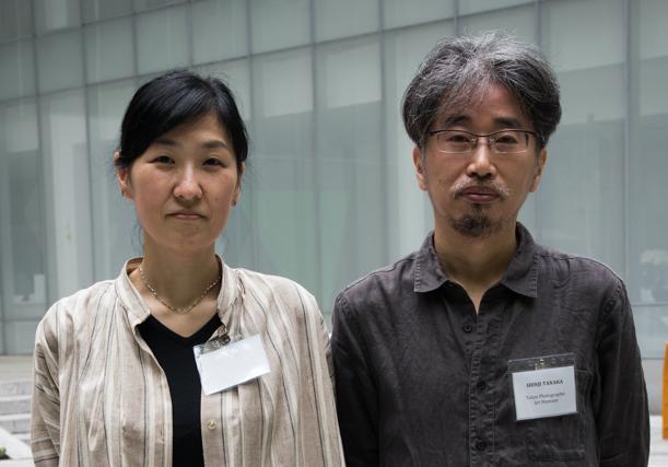 Tokyo Photographic Art Museum - (Tokyo, Japan)Hiroko Tasaka, Curator in the Department of Moving ImageShinji Tanaka, Media Art Engineer