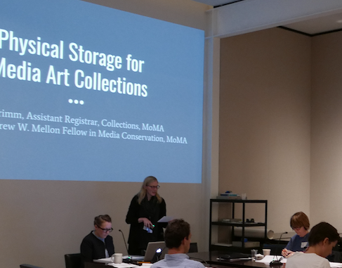 Sarah Primm & Amy Brost, Physical Storage Session