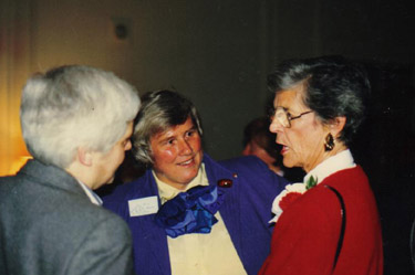 Jocelyn Palm, Viju Kanep, June Labbett - 1989