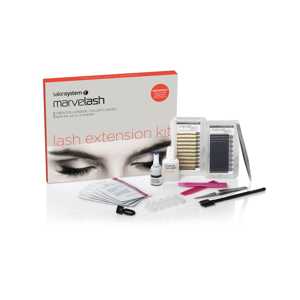 Salon System Eyelash Dye Starter Kit 0227204