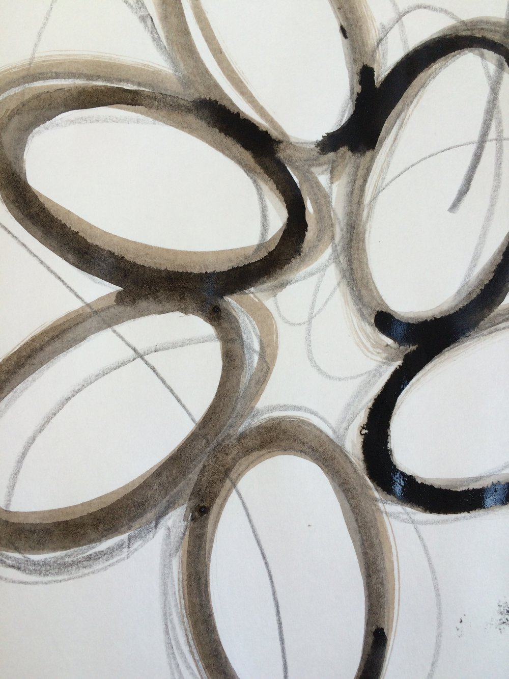 India Ink, Walnut Ink, Space, #rv5404, Noise, Charcoal, Time, Flat Paint,