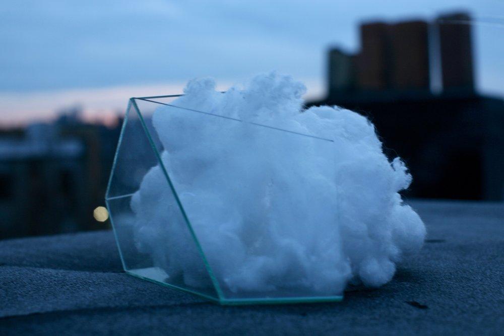 Glass, cotton, intention, 2016  3RD 2016 ARTSLANT PRIZE SHOWCASE WINNER
