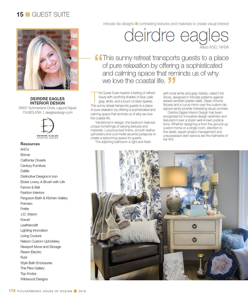 Kitchen And Bath Design News Press Awards Deirdre Eagles Design
