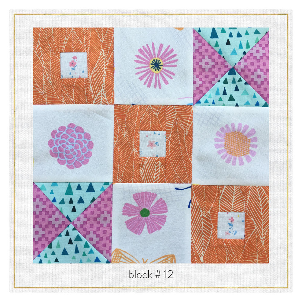 This block features  In the Bloom by Valori Wells ,  Paintbox Basics by Elizabeth Hartman ,  Whimsical Garden by Tara Lilly , & Whiskers and Tails