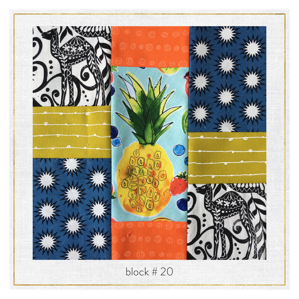this block features Blueberry Park by Karen Lewis, Doe by Carolyn Friedlander, Jasmine by Valori Wells, Pacific by Elizabeth Hartman and Metro Market by Margaret Berg.