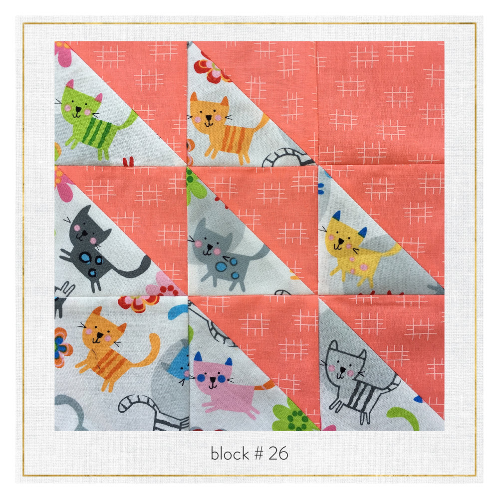 This block features Conservatory by Heather Jones and Creatures + Critters by Amy Schimler.