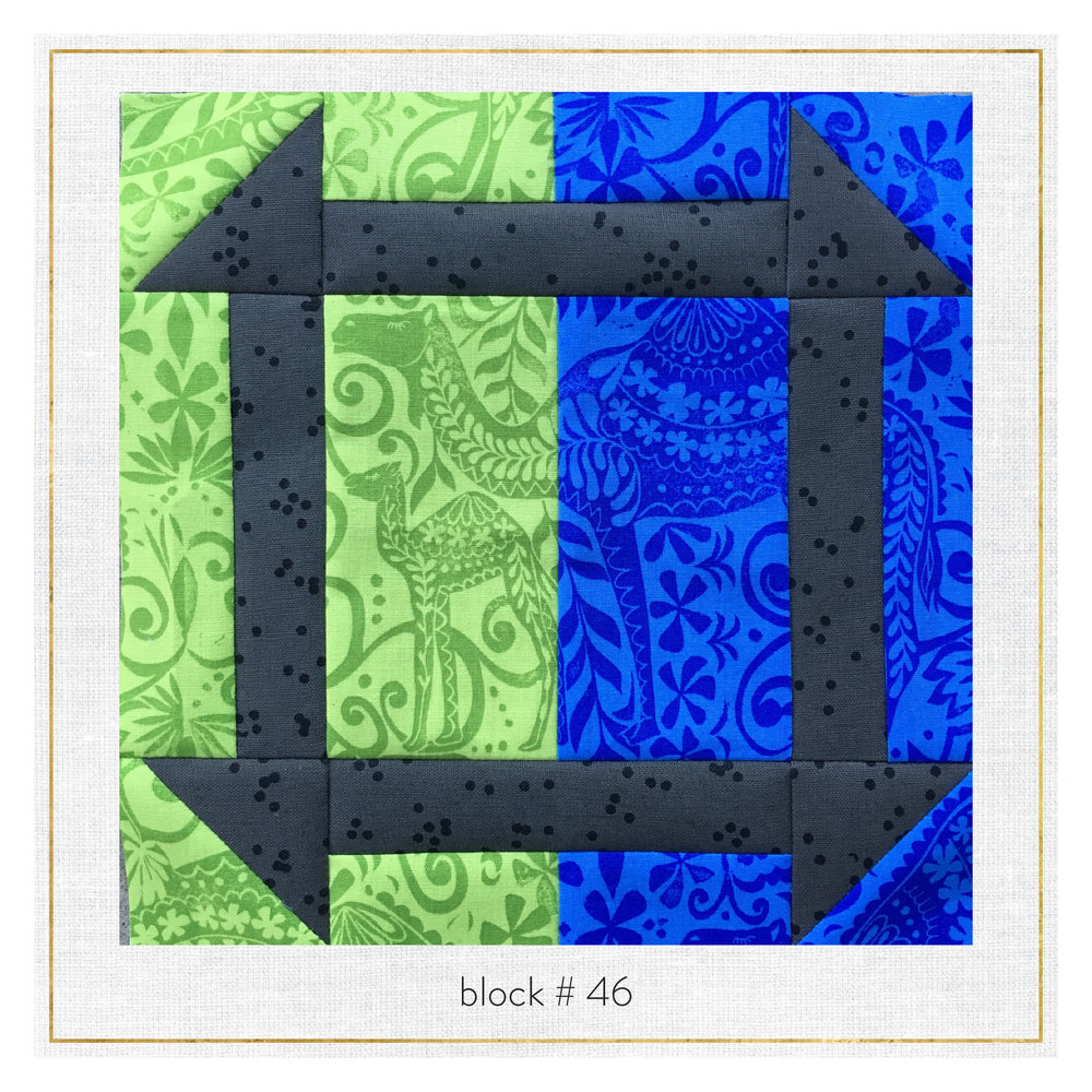 This block features Jasmine by  Valori Wells  + Arroyo by  Erin Dollar .