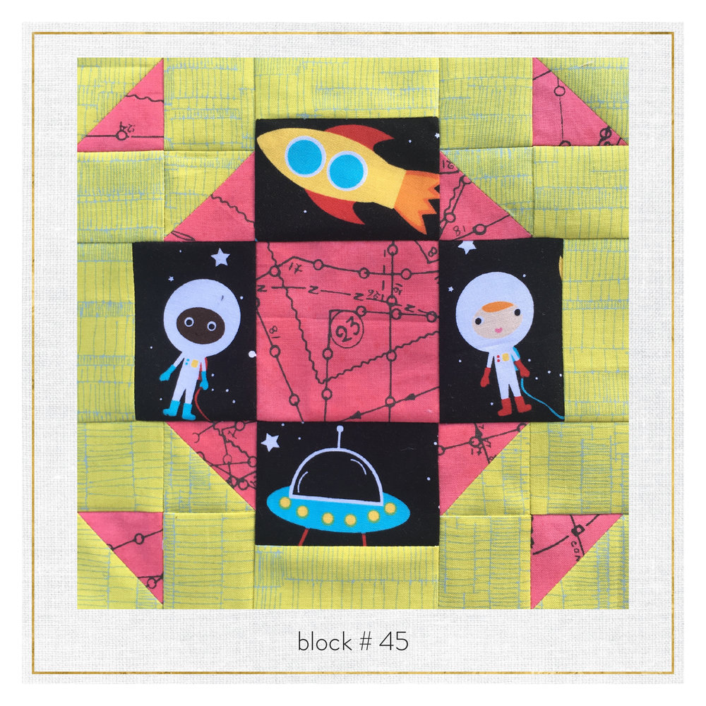 This block features  Doe by Carolyn Friedlander ,  Color:FULL by Jennifer Sampou  and  Space Explorers by Ann Kelle .