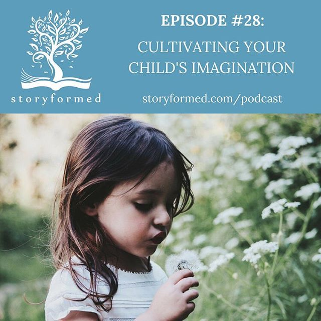 Do you sometimes wish your child had more of an imagination? Do you wonder what steps to take to help cultivate an imagination in your kids?  Today on the podcast, Holly Packiam and Jaime Showmaker talk about why imagination matters in life and faith, drawing from the stories of inventors, authors, and even their own experiences with their kids.  Topics include: *How imagination inspires creativity *How imagination leads to a life with God *Ways to cultivate imagination in our kids' lives *How to create space for imagination in our children *Book recommendations  Podcast link in profile.