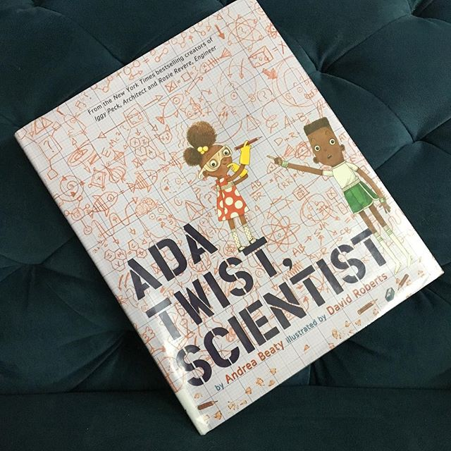 Here's the follow up book to the popular Iggy Peck, Architect & Rosie Revere, Engineer. We enjoyed that it's written in verse. And Ada is an imaginative soul who is sure to inspire your kids to pursue their passions! #storyformed #bookstagram #picturebooks #bookshelf #booksofinstagram