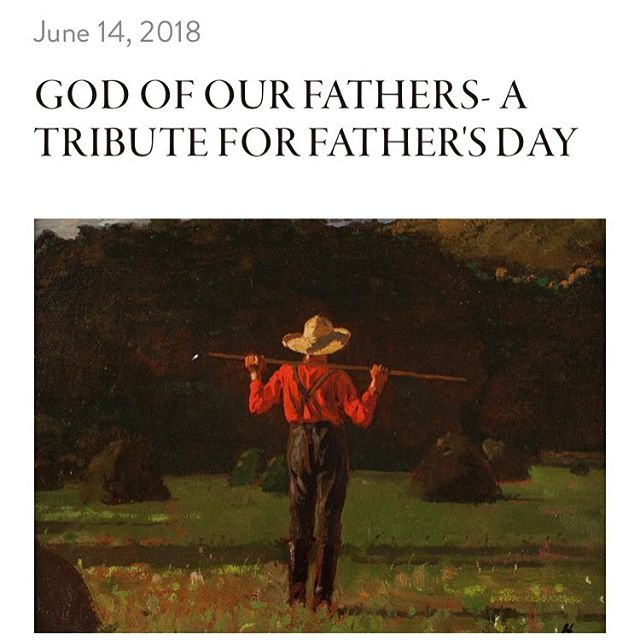 This weekend it's Father's Day in the States and, in honor of the day, I thought I would share with you an essay I penned a few years ago--a tribute to my husband's grandfather. Happy Father's Day to all of our Storyformed Dads! ~ Jaime Showmaker  Link in profile.