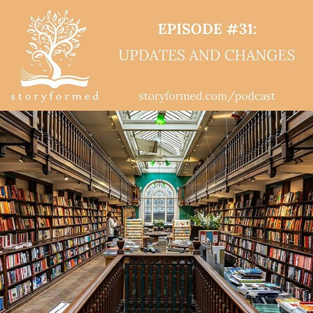"Today on the podcast, I share some stories of our adventure to England! And I also have some updates and ministry changes to share with you. ""As some of you may know, Storyformed is a ministry initiative of Whole Heart Ministries led by Clay and Sally Clarkson. As the Clarksons and I have been thinking about ways to make the ministry more streamlined and effective, we have decided to no longer run Storyformed as a separate podcast and blog. Our best content and resources will be integrated into the Wholeheart.org site. Even though, you won't find me on Storyformed.com, I'll continue to be a regular contributor on lifewithsally.com. I'll continue to talk about all things 'Storyformed.' Please join me in that space.  Also, I'd love to connect with you on my personal Instagram account - @hollypackiam . I post about my life and family of course, but I'll also post what the kids and I are reading as well.  Thank you again for joining me in this FINAL Storyformed podcast. I hope you all have a wonderful and (hopefully somewhat restful) remainder of the summer! And of course, as always, READ ON!! To listen to the podcast or read my letter, click link in profile."