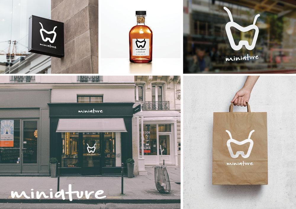 Miniature Store Branding.