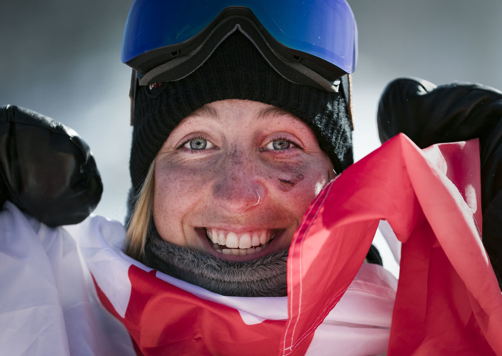 Ladies slopestyle snowboarding took place this afternoon, Feb. 12 at Phoenix Snow Park at the PyeongChang Winter Olympics in South Korea. Jamie Anderson brought home gold for USA with an 83 points for her run in extreme wind and cold, making the obstacle course difficult.