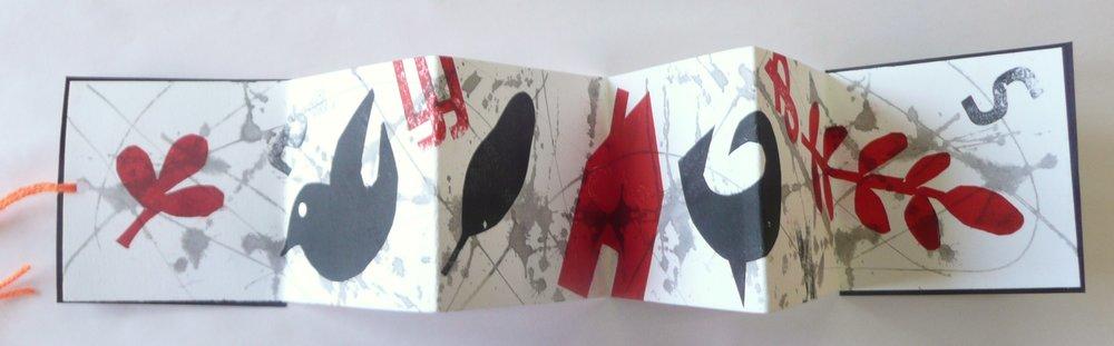 Stencil, artist book