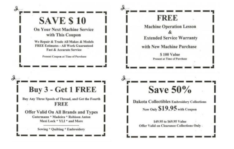 coupons — Blog — Six Corners Association