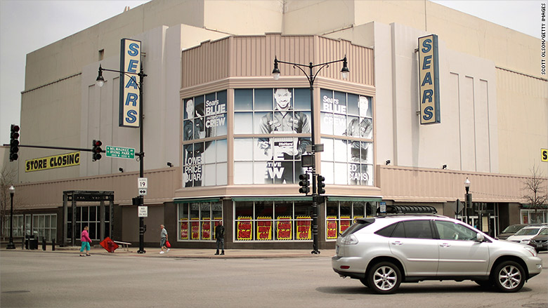 Sears Building @ Six Corners