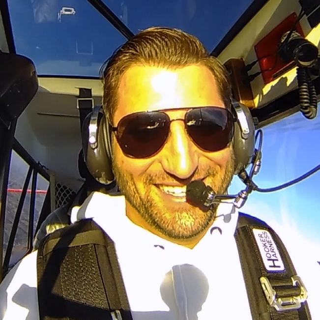 Zach Crawford, Citation Pilot