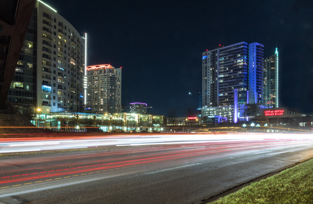 Exposed by Light Austin Photographer Light Trails Seaholm