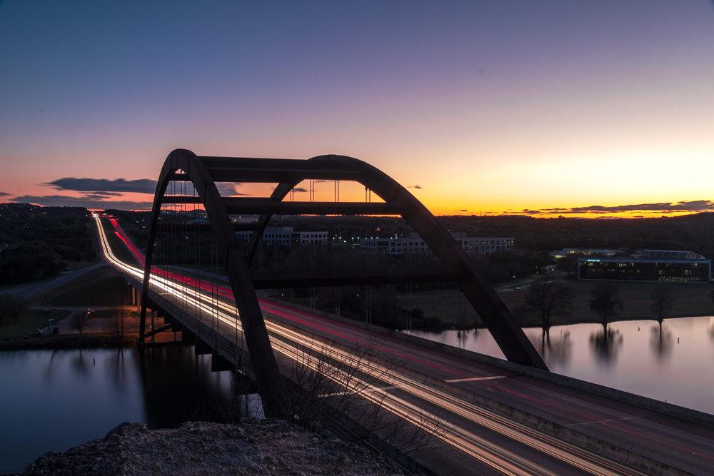 Exposed by Light Austin Photographer 360 bridge